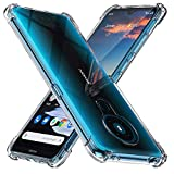 Peakally Nokia 5.3 Case, Soft TPU Transparent Protector