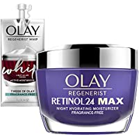 Olay Regenerist Retinol 24 Max Moisturizer + Whip Face Moisturizer