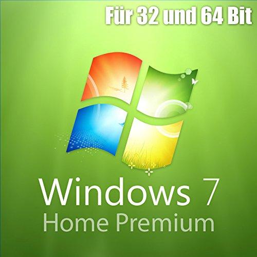 MS Microsoft Windows 7 Home Premium 1PC Original 32/64-Bit