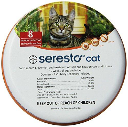 Collar de pulgas y garrapatas Soreste para Perros, Control de pulgas y garrapatas de 8 Meses para Gatos Mascota