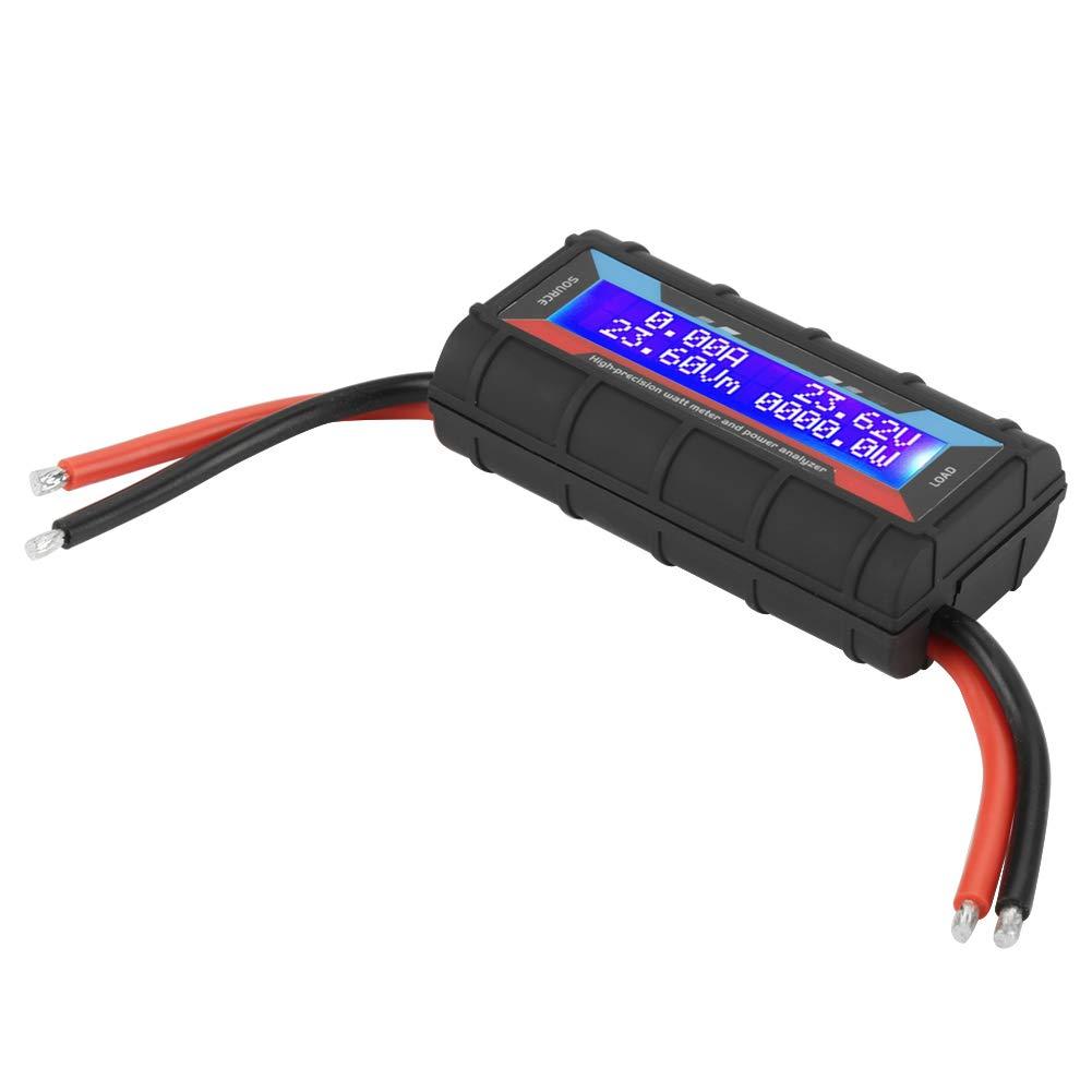 Power Analyzer High Precision Watt Power Tester RC Power Tester Watt Meter Voltage Amp Power Analyzer Electrical for RC Model Airplane