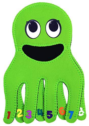 Quacks Robinet Tappy / Bec / Protecteur de Robinet pour Enfants et Bébés - Accessoires de Salle de Bain, Jouets de Bain, Housse de Protection - Octopus Design