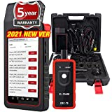 Launch X431 DIAGUN V,2021 Newest Bi-Directional Scan Tool Full System Scanner,31+ Relearn Reset Service ,ECU Coding,Key Programming,TPMS Tool As Gift