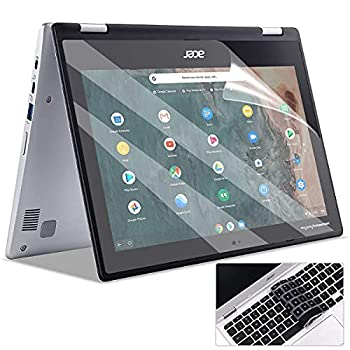 2 Pack Matte Anti-Glare Screen Protector for Acer Chromebook Spin 11& 311 11.6  Acer Chromebook R 11 11.6 Inch Laptop with Surprise Keyboard Skin Help for Your Eyes Reduce Fatigue