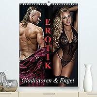 Erotik - Gladiatoren und Engel (Premium, hochwertiger DIN A2 Wandkalender 2022, Kunstdruck in Hochglanz): Starke Maenner und erotische Engel fuer schoene Momente (Monatskalender, 14 Seiten )