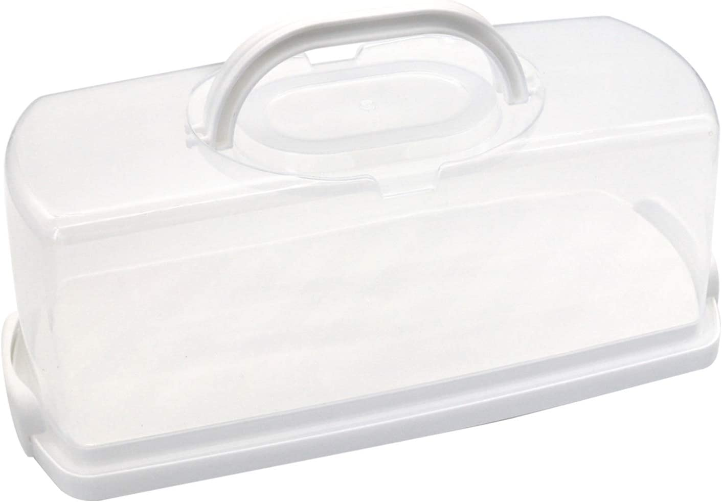 25% OFF FEOOWV Portable Wholesale Plastic Rectangular Loaf Transpar Bread Box with