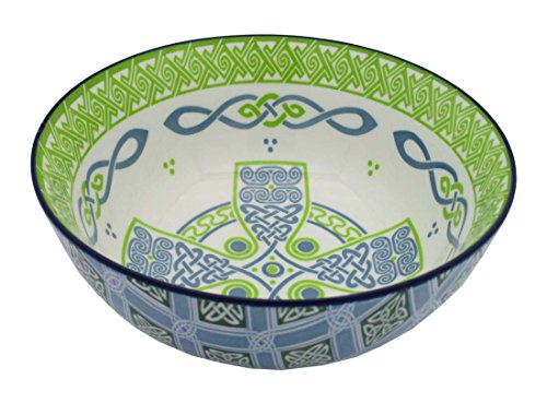 Irish Celtic Bowl With Celtic Cross Design 14cm