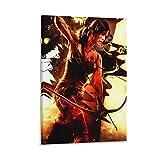 haohaizi Tomb Raider Lara Croft Bogenschützen-Poster,