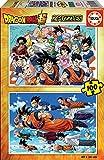 Educa Borrás-2X100 2 100 piezas, puzzle infantil Dragon Ball, color variado, (18214) , color/modelo surtido