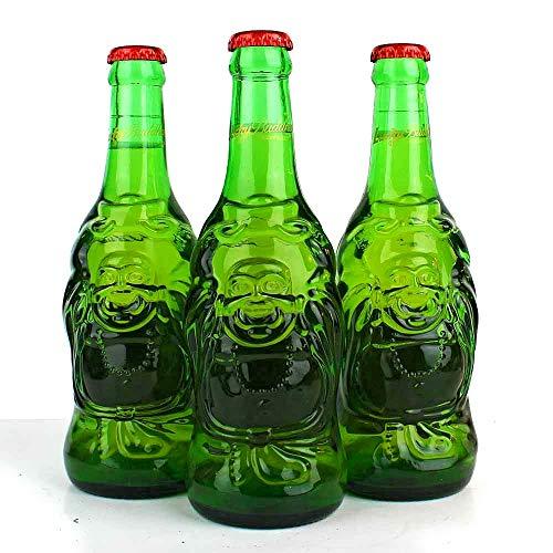 4 Flaschen Lucky Buddha aus China