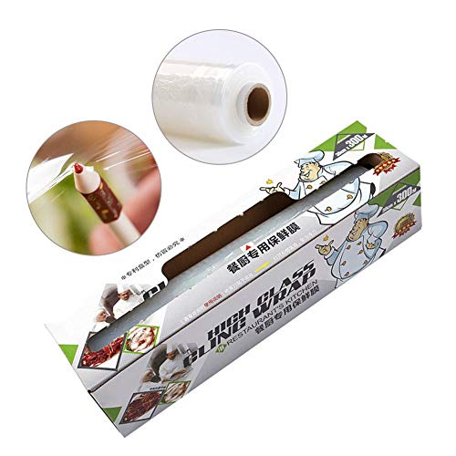 Find Discount Plastic Wrap, Kitchen Special Plastic Wrap 30cmx300m Large Roll Kitchen Pe Food Plasti...
