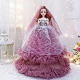 SILICONO CALIENTE DE SILICÓN 45 CM Conjunto de muñecas de boda creativo Océano Muñeca Muñeca Muñeca Doll Juguetes para niños