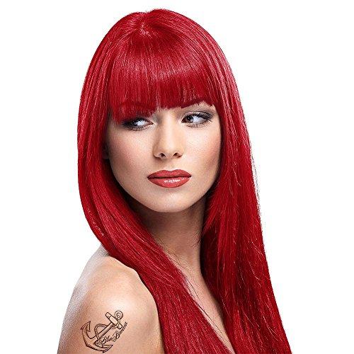 La Riche Directions Poppy Red Semi-Permanent Hair Colour 88ml by La Riche