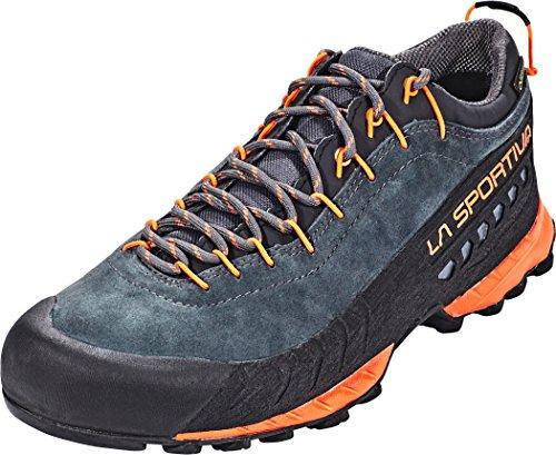 LA SPORTIVA TX4 GTX Carbon/Flame, Zapatillas de Trekking Unisex Adulto, 46 EU