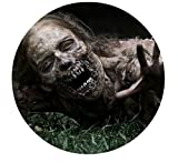 SDore The Walking Dead Zombie TWD Edible Image Photo Cake Topper Sheet Birthday Party - 8 Inches Round