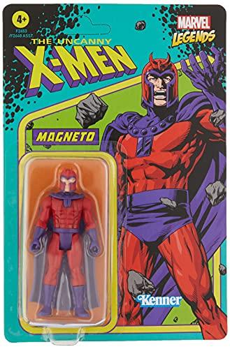 Hasbro Marvel Legends Series - Figura de Magneto de 9.5 cm - Colección Retro 375