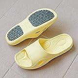 WUHUI Zapatos de baño, Zapatillas sin Fondo Suaves de baño de Verano para...