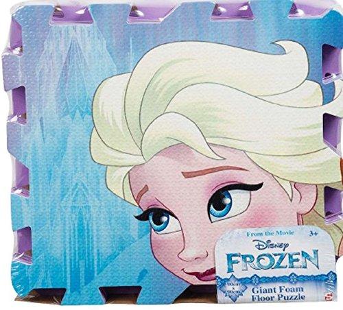 Disney - DFR-5598 - Puzzle de Sol géant - La Reine des Neiges