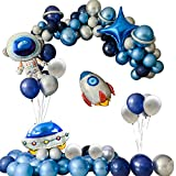 Birthday Decorations, Space Balloon Garland, Space Planet Party, Out of This World, Outer Space Party, Astronaut Balloon, Blast Off, Sloar System Party