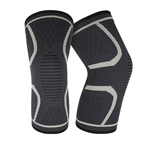 Compression Knee Brace(1 Pair), Best Knee Sleeves Support for Joint Pain Relief,Meniscus Tear, Arthritis, Injury Recovery,Running, Basketball & Weightlifting,Sports,Men and Women,Kids