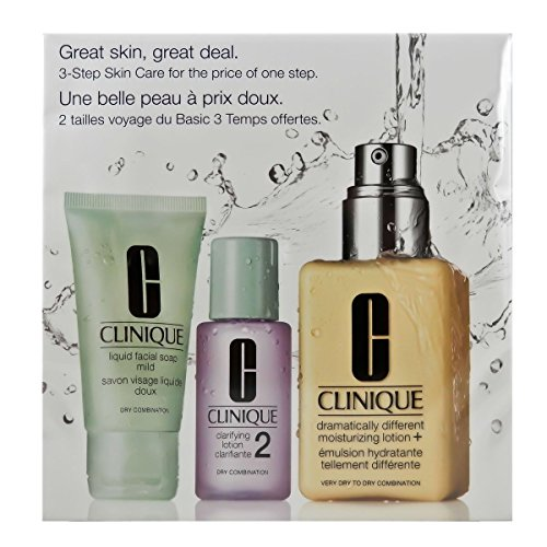 Clinique 3 Step Combination Oily Skin Set – Set para piel seca