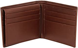 Affilare Men's Italian Leather Belt and Wallet Set Black Brown 12GBEX35