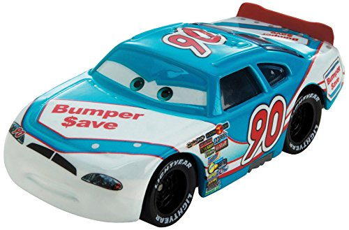 Disney Pixar Cars Ponchy Wipeout (Bumper Save # 90) (Piston Cup Series, # 3 of 18) - véhicule miniature