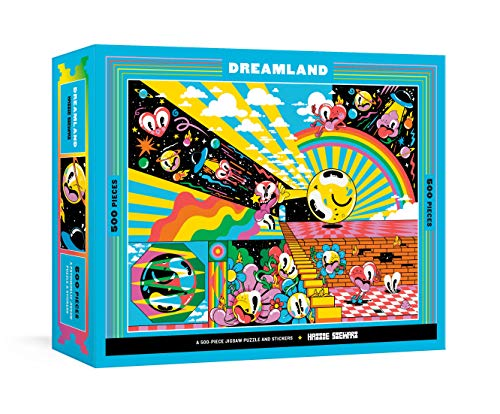Dreamland: A 500-Piece Jigsaw Puzzle & Stickers : Jigsaw Puzzles for Adults