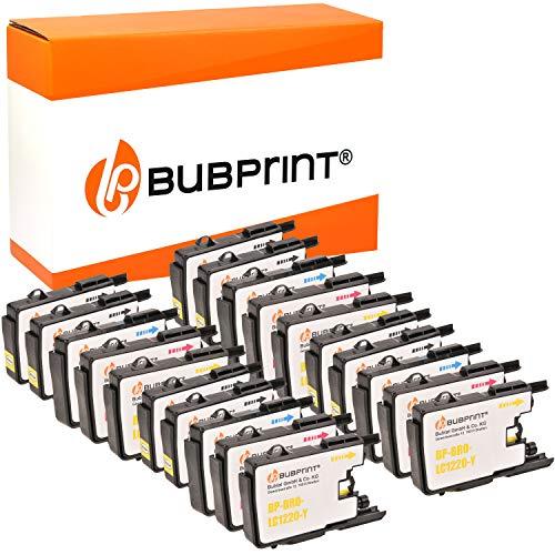 20 Bubprint Druckerpatronen kompatibel für Brother LC-1220 LC-1240 für DCP-J525W DCP-J725DW DCP-J925DW MFC-J430W MFC-J5910DW MFC-J625DW MFC-J6510DW MFC-J6710DW MFC-J6910DW MFC-J825DW Multipack
