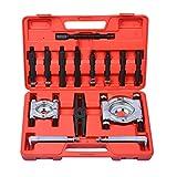 Prokomon Bearing Puller Set | 5-Ton-Capacity Bearing Separator | Wheel Hub Axle Puller | Pinion Bearing Removal Tool Kit | Bearing Splitter