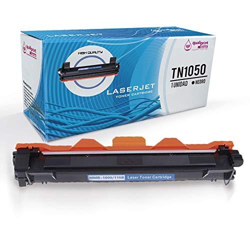 QP1050 Cartucho de tóner Compatible para Brother TN1050 1050 para impresoras Brother HL-1110 HL-1112 HL-1212 HL-1210 DCP-1510 DCP-1610 DCP-1612 DCP-1512 MFC-1810 y MFC-1910