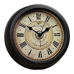 Brandream Luxury Vintage Small Wall Clock Classic Desk Clock 6 Inch Diameter
