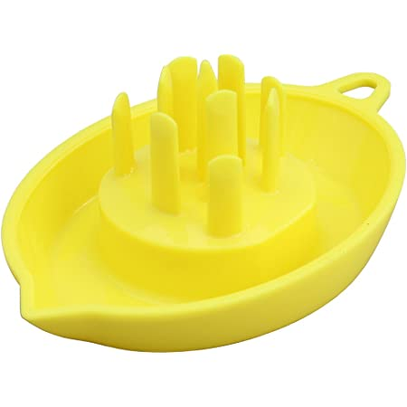 スマイルキッズ レモン絞り器 レモンしぼり革命 イエロー ALM-01C