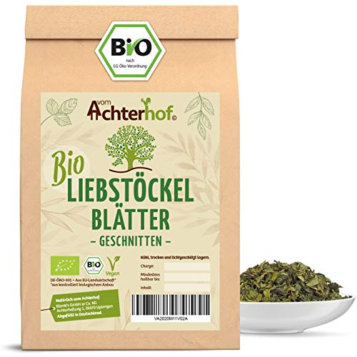 Liebstöckel getrocknet BIO | 500g | 100% Bio Liebstock gerebelt | Maggikraut | Liebstockblätter...