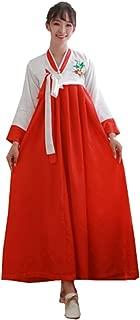 Women's Korean Traditional Hanbok Dress Cosplay Costumes