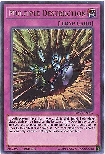 YU-GI-OH! - Multiple Destruction (DPBC-EN005) - Duelist Pack 16: Battle City - 1st Edition - Ultra Rare
