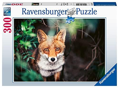 Ravensburger Erwachsenenpuzzle 13321 Ravensburger 13321-Fox in Meadow-300 Teile Puzzle für Erwachsene und Kinder ab 14 Jahren [Exklusiv bei Amazon]