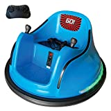 The Bubble Factory Electric RC Kids Bumper Car with Light and Music