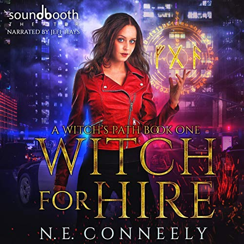 Witch for Hire audiobook cover art