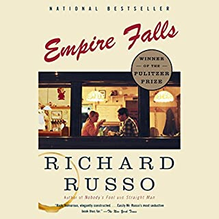 Empire Falls audiobook cover art