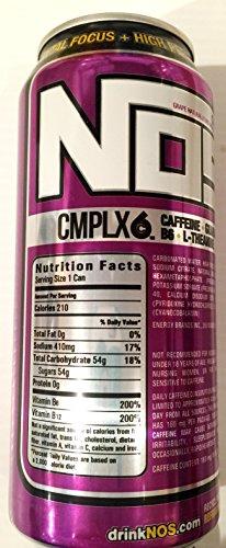 NOS High Performance Energy Drink - Grape - 16fl oz (Pack of 16)