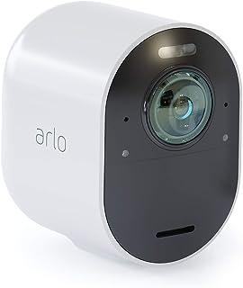 Arlo Ultra 4K - Cámara adicional Smart (recargable libre de cables con visión diurna/nocturna funciona con Amazon Alexa) necesita Smarthub