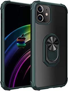 FanTing Cover for Huawei Y8s Case,360°adjustable rotating ring bracket,Soft TPU + hard PC transparent anti-seismic protect...