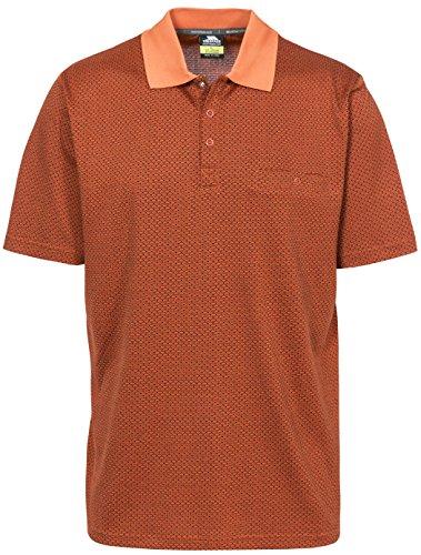 Trespass Reihan Polos Homme, Orange, FR (Taille Fabricant : XXS)