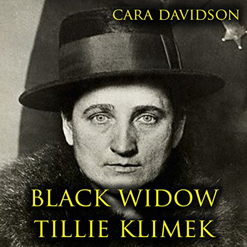 Black Widow Tillie Klimek audiobook cover art