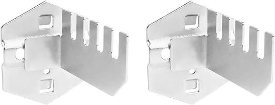 ULTECHNOVO 2 st stål Pegboardkrokar för väggstyrning Pegboard och slitsad verktygsplatta Pegboard organiseringstillbehör f...