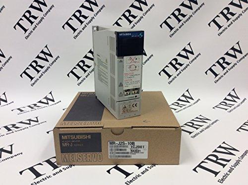 MITSUBISHI MR-J2S-10B 1.1 AMP, 200-230 VAC, 50/60 HZ, SERVO Amplifier, AC SERVO, 0-360 HZ, Output: 170 V, 100 WATTS, Input: 0.9-1.3 AMP