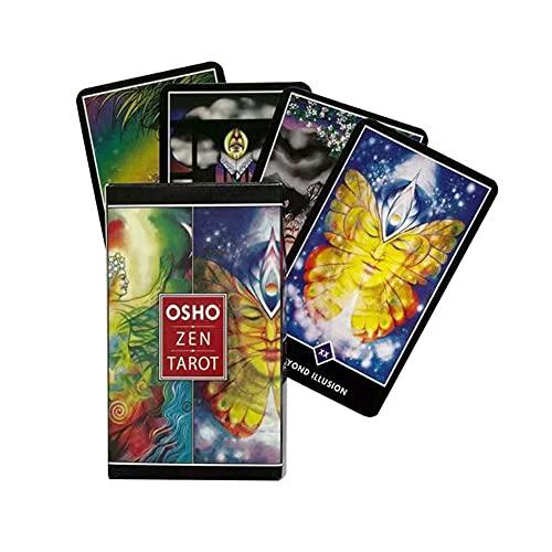 Juego De Cartas De Divinación Tarjetas Tarjetas Osho Zen Tarot, Adecuado para Juegos De Mesa De Fiesta