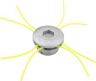 Cortador de Cabeza de Aluminio Universal Accesorios de Cortacésped Herramienta de Poder Jardín de Césped Espacio Verde Res...