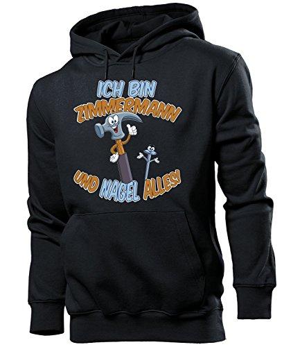 Ich bin Zimmermann und Zimmerer Herren Pullover Hoodie Geburtstagsgeschenke für Männer Zubehör Handwerker Arbeitskleidung Geschenk lustig Geburtstag zum Meister berufsbekleidung klamotten oberteil